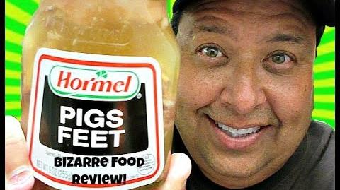 Joey's Bizarre Food Reviews-Hormel® Pigs Feet!