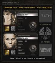 Distrito 8 Tributos