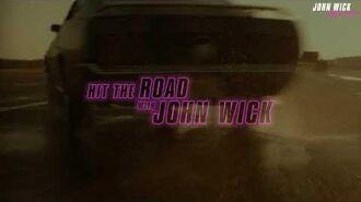 JOHN WICK ROAD TRIP Starting 8 31