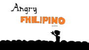 Angry Philipino Geek title card