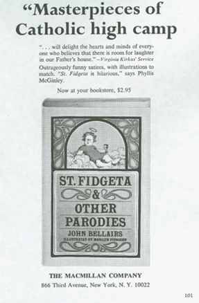 Saint Fidgeta and Other Parodies (advert) (US, 1966)