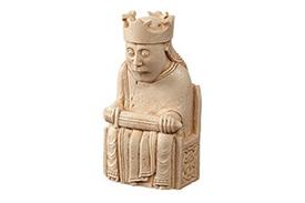 Lewis Chessmen king