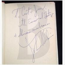 Saint Fidgeta and Other Parodies autograph 002