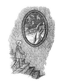 Prospero in barnavelt mirror
