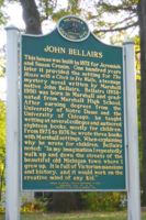 John Bellairs marker