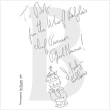 Saint Fidgeta and Other Parodies autograph 001