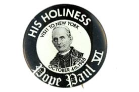 Paul VI button