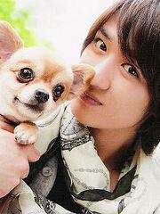 Orange for Yokoo-san and Green for me XD: haiyah~ take miyacchi!!
