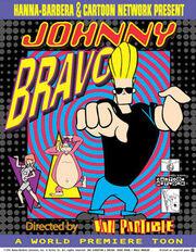 Johnny Bravo short poster-1-