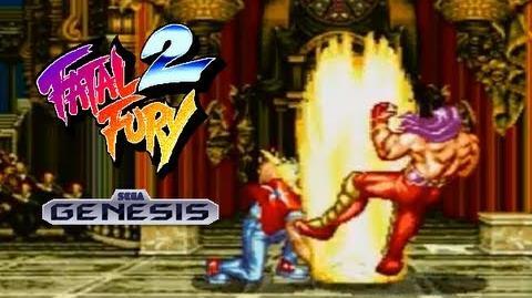 Fatal Fury 2 playthrough (SEGA Genesis)