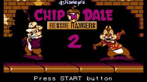 2 NES Longplay Chip 'n Dale - Rescue Rangers 2