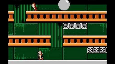 NES Longplay 128 Chip 'n Dale Rescue Rangers (a)