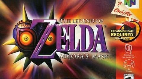 Full Game Legend of Zelda Majoras Mask N64