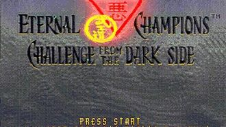 Mega-CD Longplay 105 Eternal Champions CD Challenge from the Dark Side