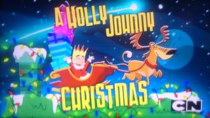 A holly Johnny Christmas