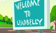 Leadbelly Sign