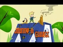 Johnny in Charge Title Card