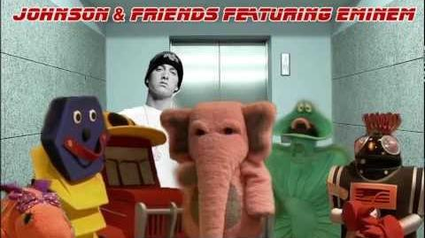 MASHUP - JOHNSON AND FRIENDS VS EMINEM - ELEVATOR - 90s AUSTRALIAN ABC TV SERIES