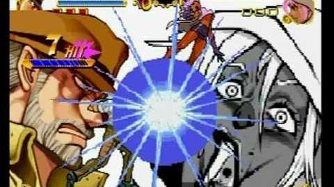 JoJo's Bizarre Adventure - All Characters' super moves with DOWN! flashes
