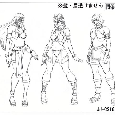 Справочный лист аниме: девушки
