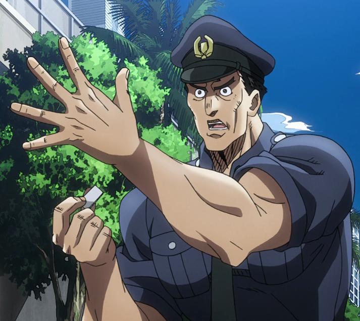 Singapore Policeman Anime