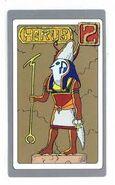 Horus-carta de dios egipcio 2
