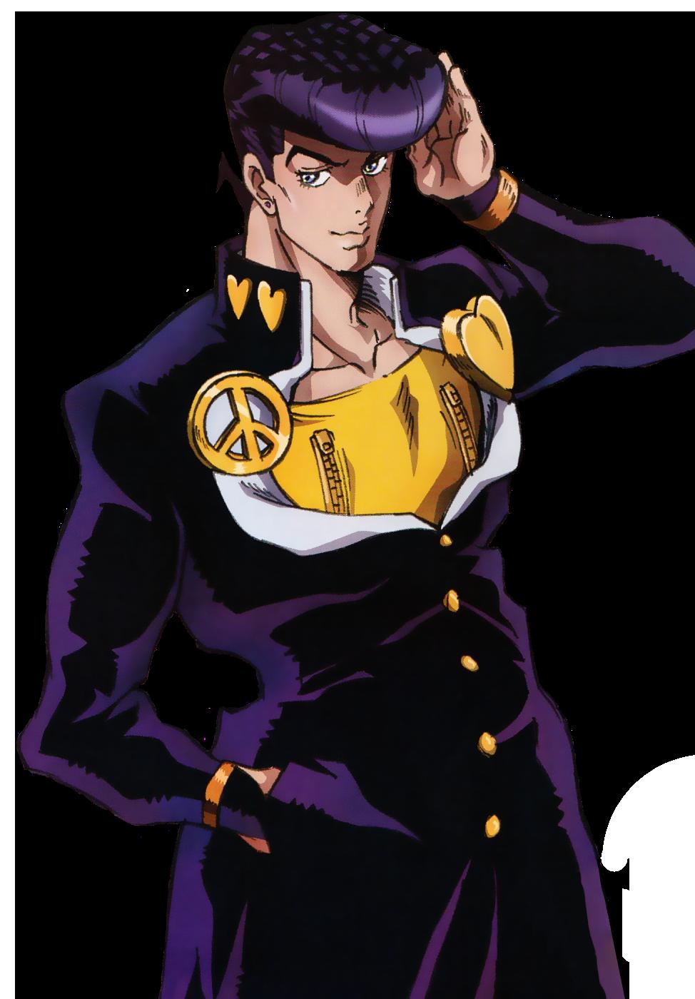 Josuke DU Infobox Anime