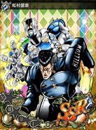JJBASS Okuyasu-TheHand-attack