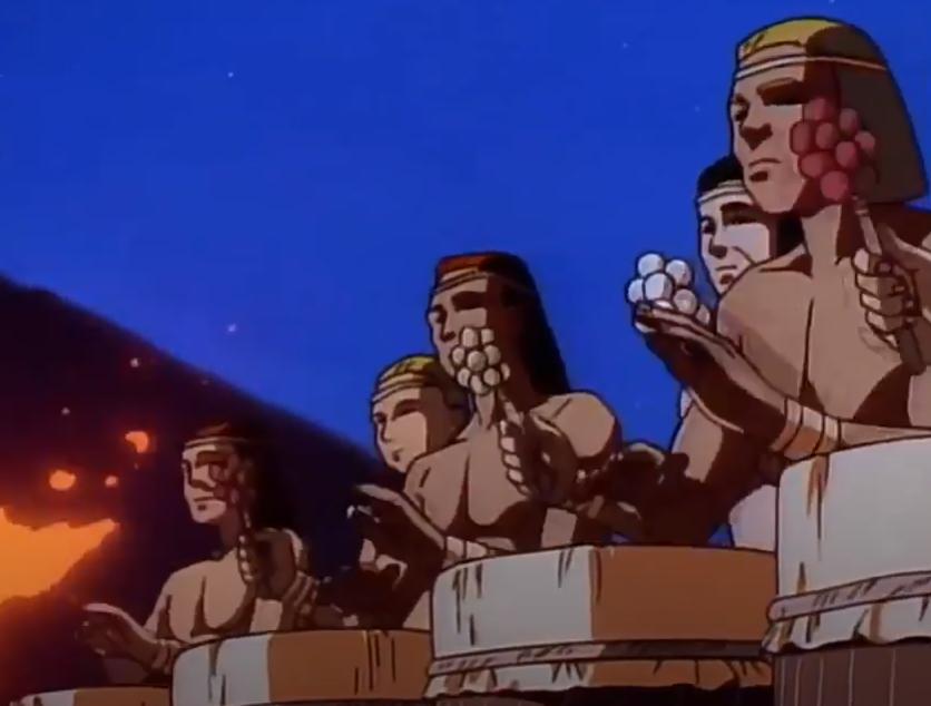 Aztec Tribemates OVA