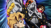 Illuso attacks Fugo