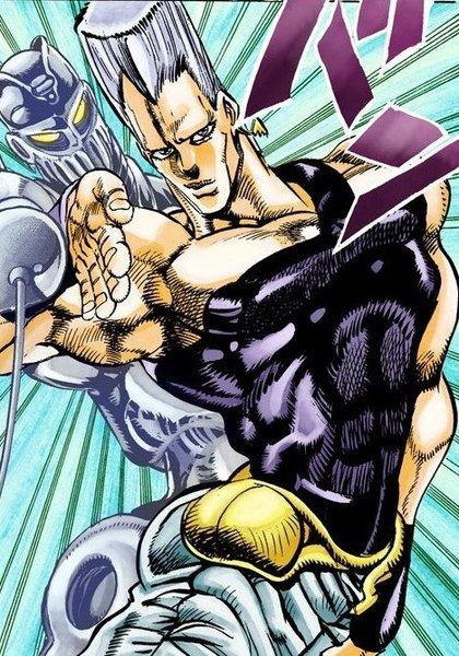 Polnareff manga profile