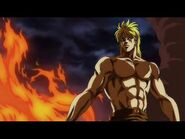 JoJo movie Dio fight roof fire