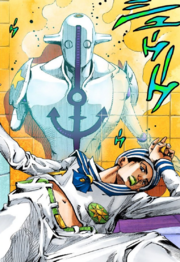 JoJolion protagonist (chapter 4)