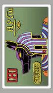Anubis-carta de dios egipcio 8