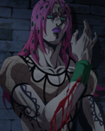 Diavolo arm sliced