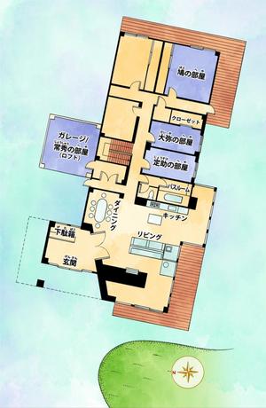 Casa Higashikata-Mapa