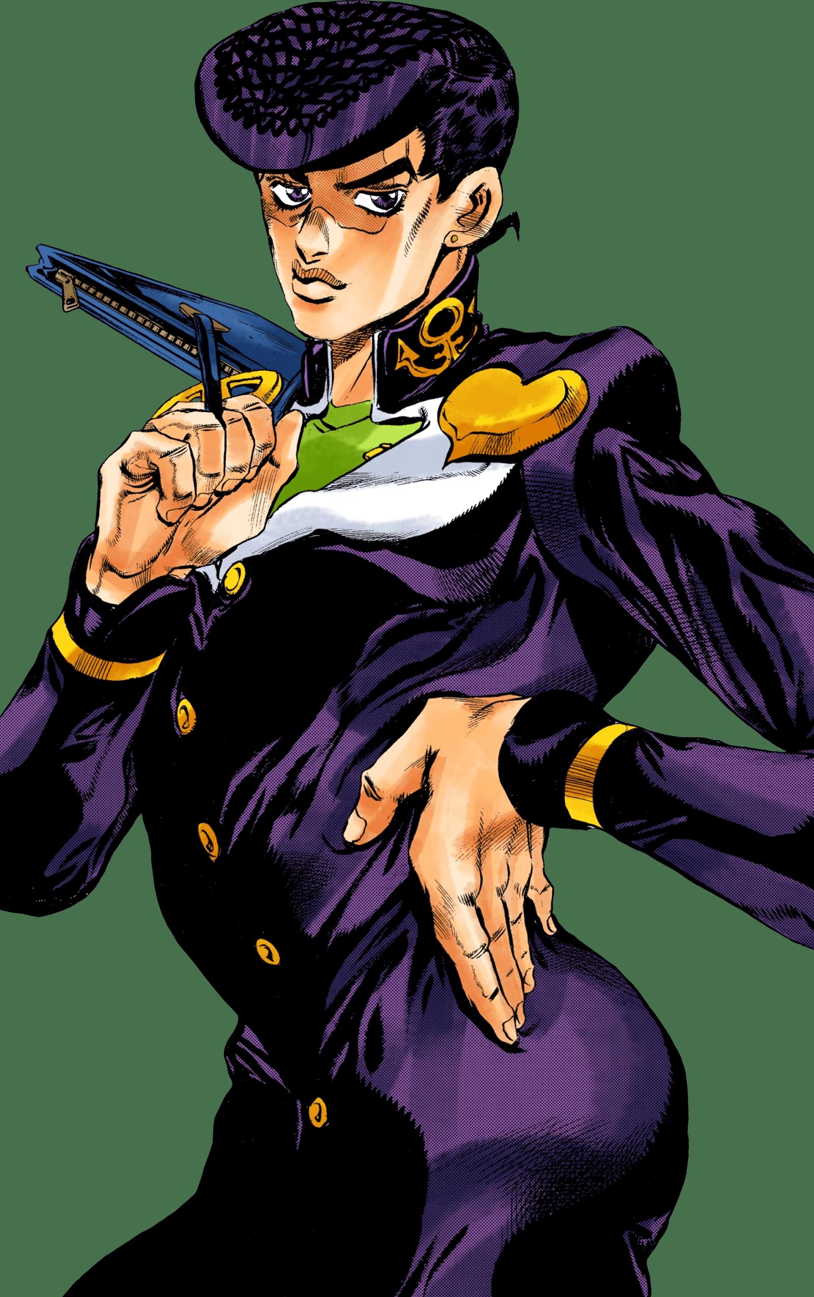 Josuke DU Infobox Manga