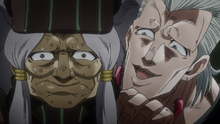 Polnareff meets Enya the Hag