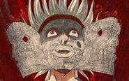 Ken Oyanagi atacado por Heaven Door
