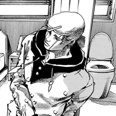 Jobin ponders the situation with a calm look on his face