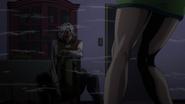 Terunosuke explain to Tomoko
