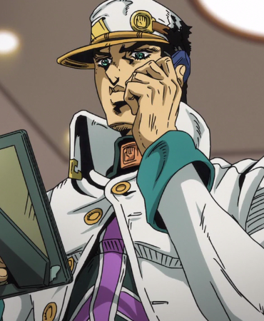 Jotaro Kujo Golden Wind (Anime)