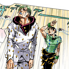 Jobin and Joshu doused by the fire sprinklers