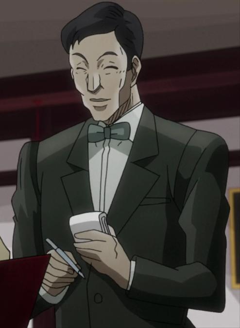 Hong kong waiter anime