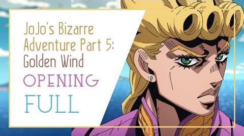JoJo's Bizarre Adventure Part 5 Golden Wind Full Opening -「Fighting Gold」by Coda