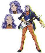 Akira Otoishi arte conceptual para el anime