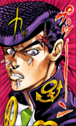 Josuke portrait angry pen, diu color v7 021