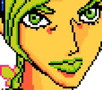 Pixel Battle Jolyne