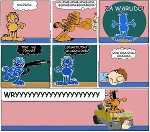 Garfield-za-warudo