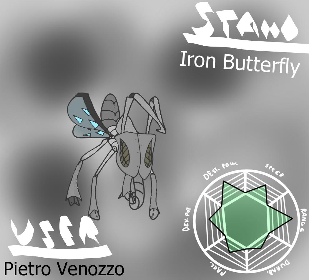 Iron Butterfly (JJAA) | Jojo's Bizzare Fanon Wiki | FANDOM
